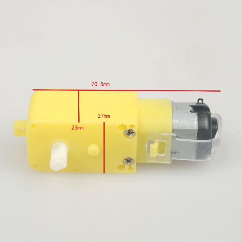 Tt motor micro smart car robot gear motor uniaxial for Robot motors and parts