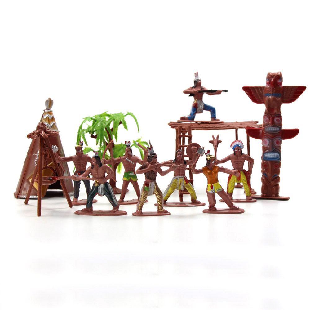 The Wild Toys : P moldel figures indian tribes the best wild west