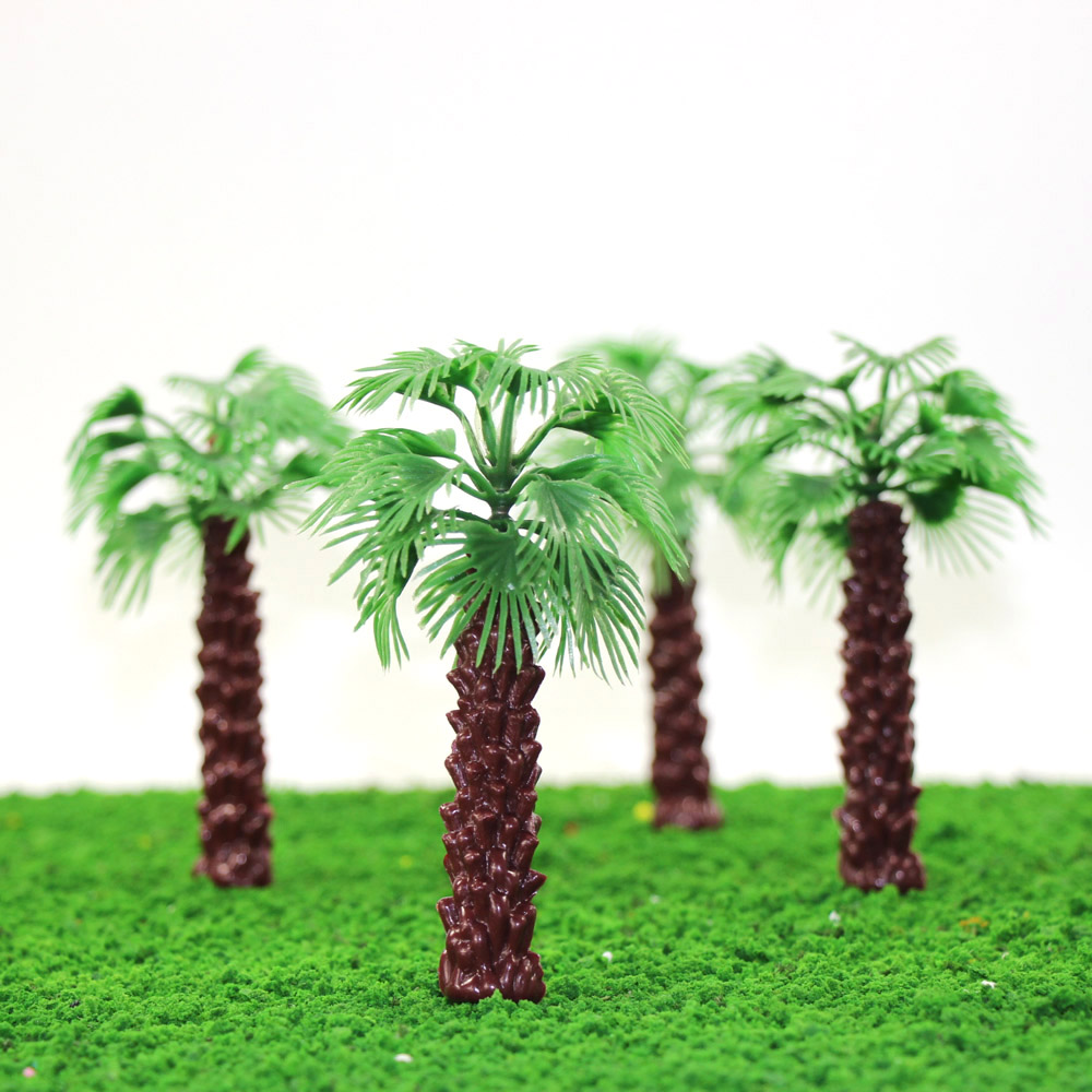 how to make model trees for a train layout