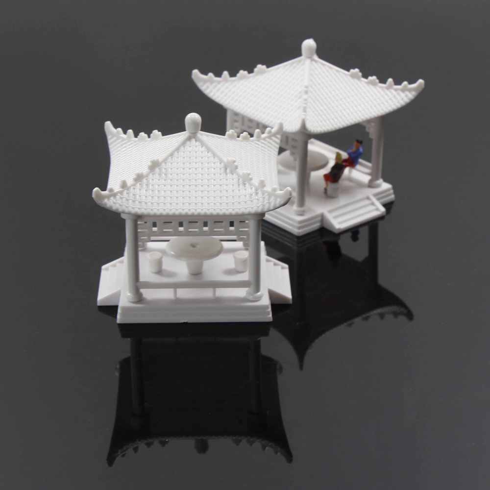Gy02100 2set diy pavilion model gloriette chinese for Decoration 02100