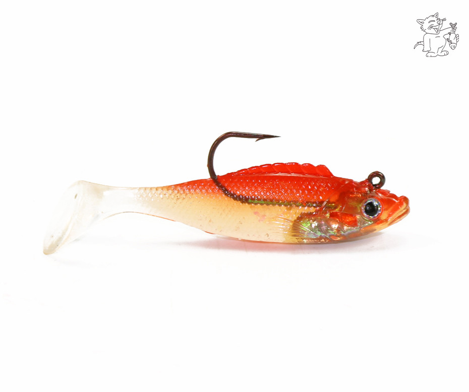 16pc fishing lure soft plastic rubber 6673 ebay for Rubber fishing lures
