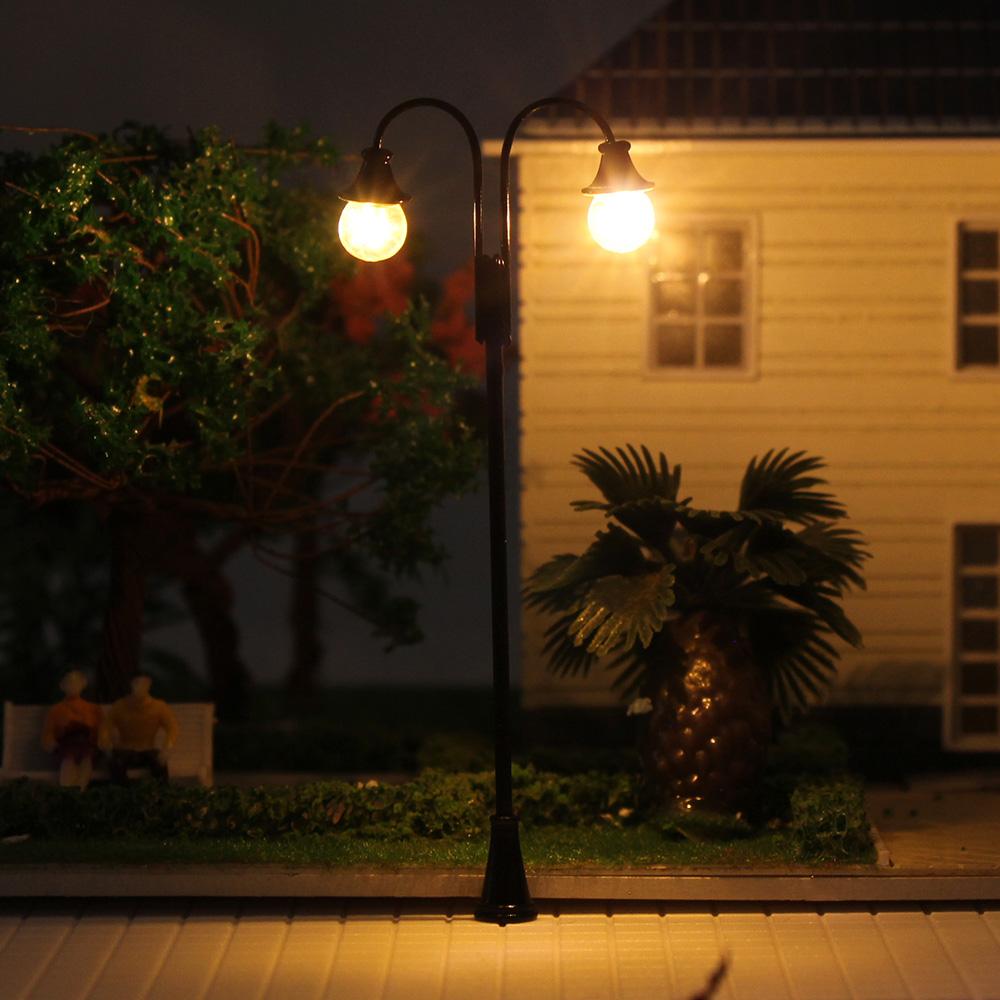 LED Parklaternen Leuchte Lampen 55mm 12-18V H0 LYM14 Neu 10 Stk TT