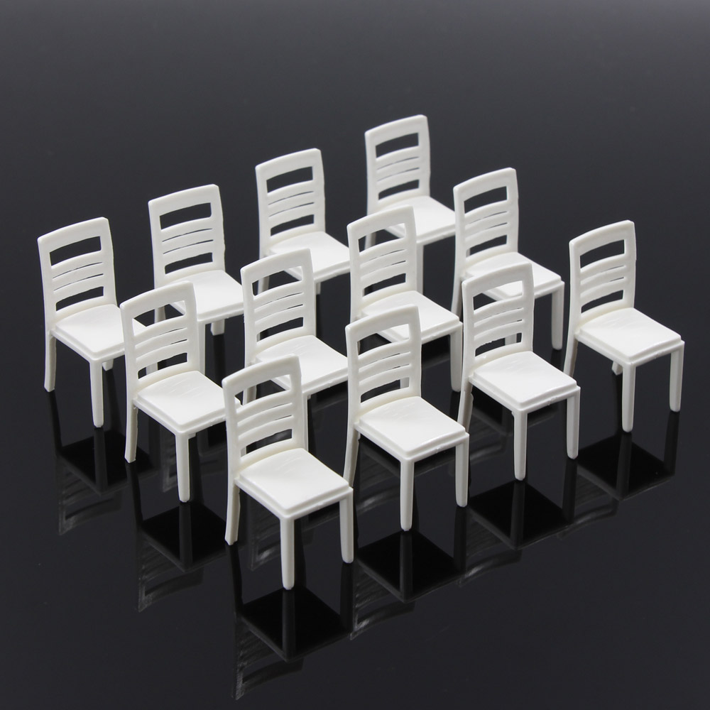 Details about ZY15025 12pc Model Train Railway Leisure Chair Settee Bench  Scenery 1:25 G Scale